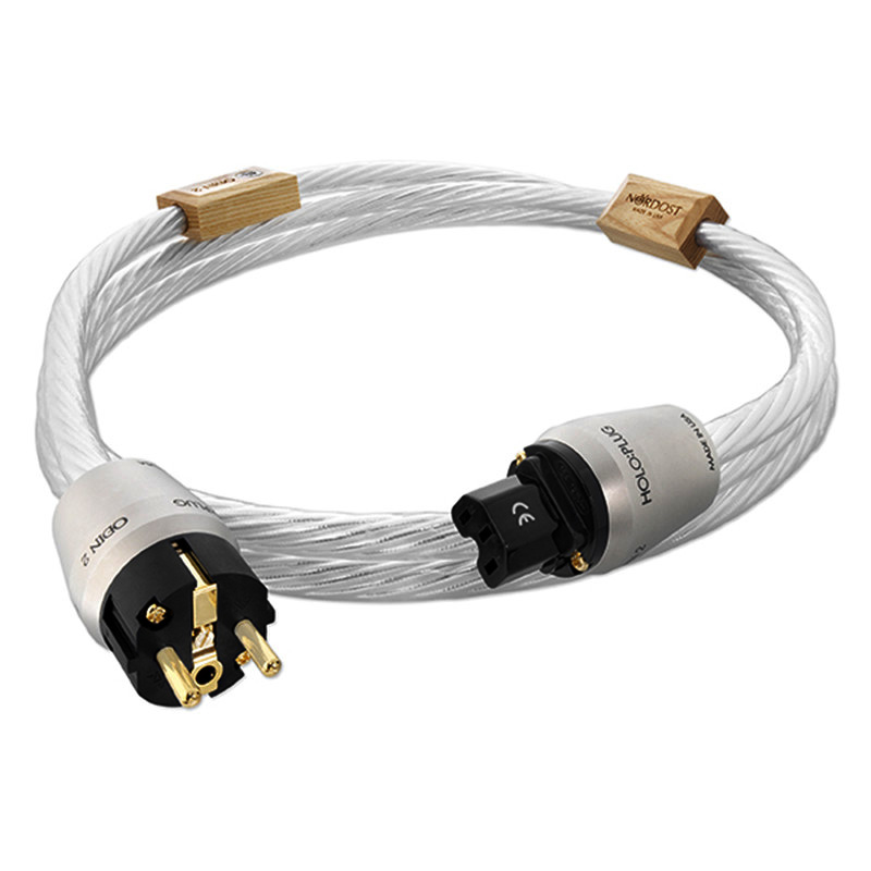 Hi Fi Nordost ODIN 2 Supreme Reference power cable seven silver plated 14AWG EU Plug socket