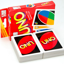 1 Set Family Funny Entertainment Board Game UNO Card Game Playing Card Standard Edition s4