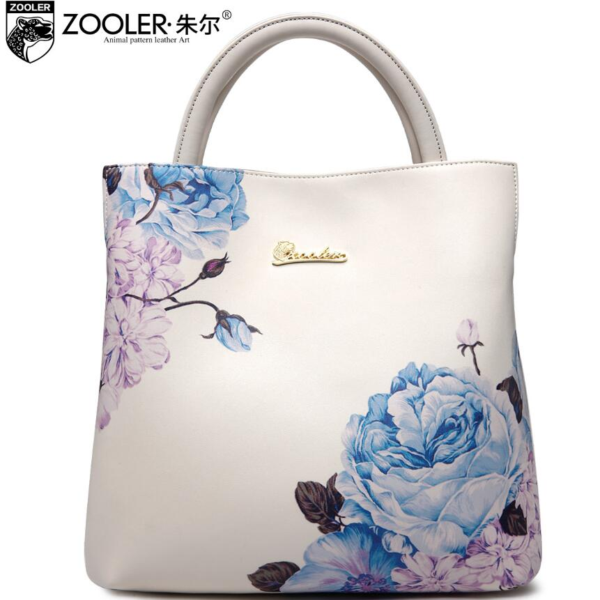 ZOOLER2017 new high-quality luxury brand fashion portable shoulder bag leather bag counter genuine, well-known brands of women