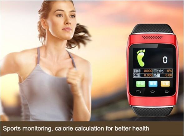 горячая распродажа андроид часы-смартфон 1.54 'дюймов наручные часы для умный телефон с прямым НБ синхронизации смс / телефонный звонок, бесплатная доставка