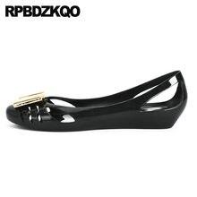 98c76e78d أحدث النساء أحذية مصممين الصين السيدات الصينية الانزلاق على أسود جولة اصبع  القدم الصنادل الفضة الشقق