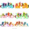 Princesa Celestia Rainbow Dash Estatua PVC Figura de Acción de Caballos De Plástico Barato Anime Figuras Figuras Juguetes Para Niños Para Niños Niñas