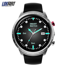 LOKMAT Smart Watch Android Phone Sport Men Clock Pedometer Waterproof Bluetooth With Camera GPS 3G Wifi Smartwatch For Ios