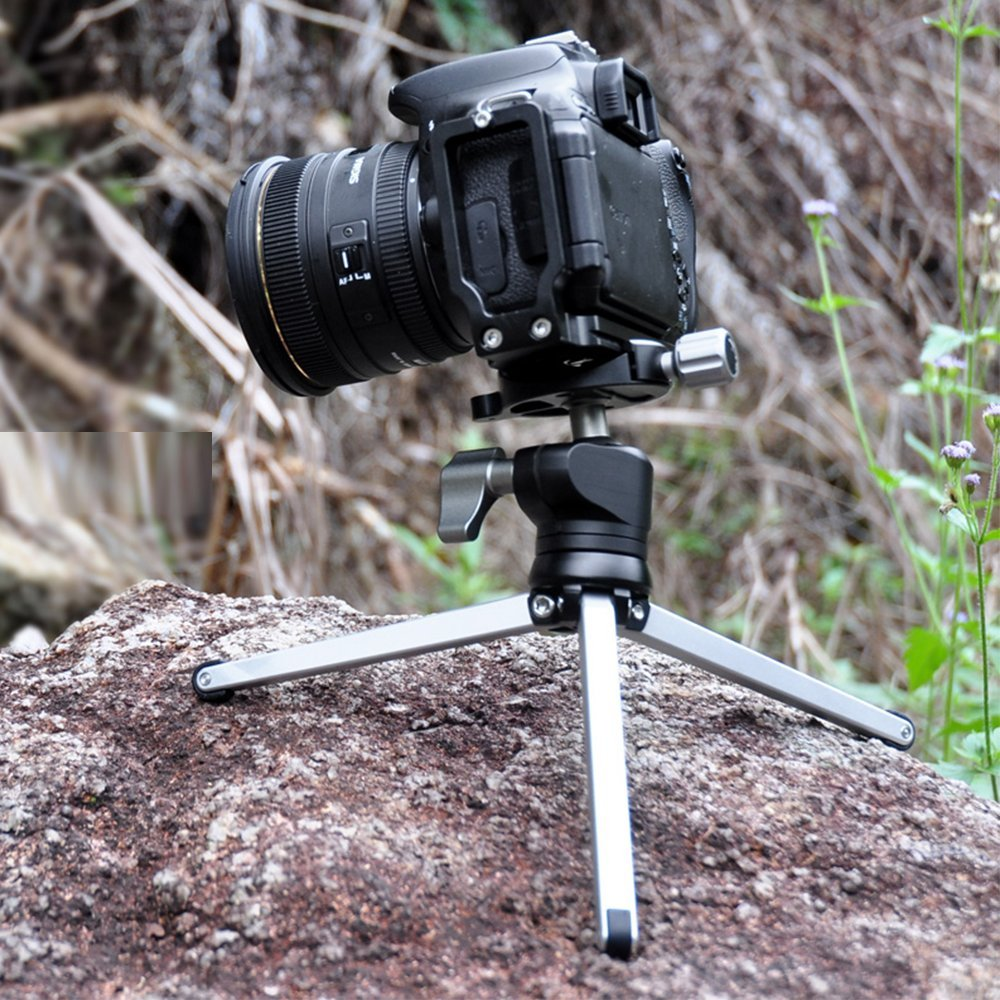 Tabletop Travel Mini Tripod with Ball Head for Canon Nikon Sony A7S XT1 XT 2 X