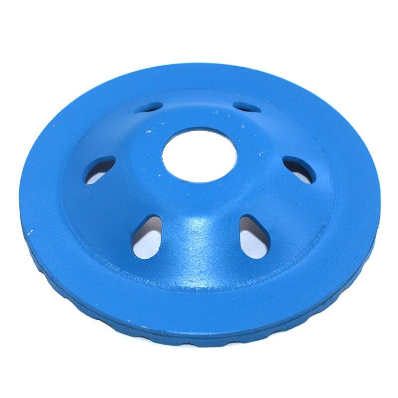 100 mm Rueda de molienda de copa turbo segmentada Forma de tazón de - Piezas para maquinas de carpinteria - foto 2