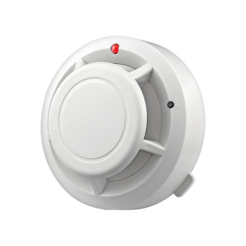 FUERS Wireless and Independent Smoke Detector with Security Alarm for Home Office and Factory