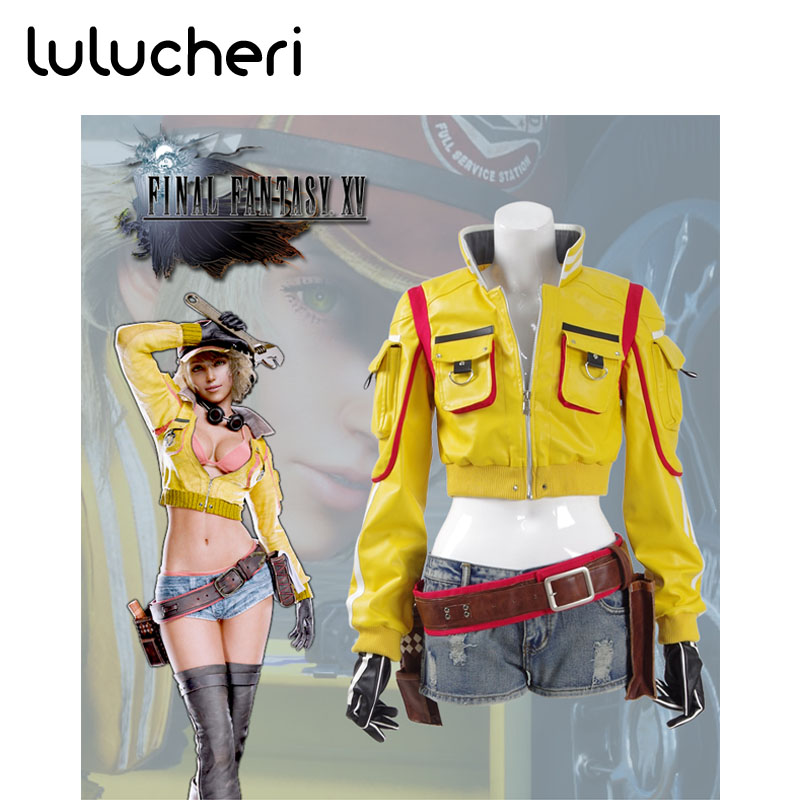 Final Fantasy XV Cindy Aurum Cosplay Costumes Woman Halloween Cosplay Costume For Women Christmas Custom Cosplay