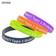 1362a23c2c99 JEPHNE Nuevo Tipo 1 pulsera de alerta médica de Diabetes pulseras de  advertencia de insulina para diabéticos ahorra vidas joyas .