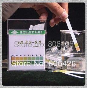 Бесплатная доставка рН воды полоски для тела жидкости и тестирование питьевой воды