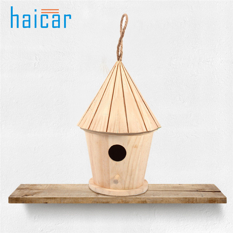 Wooden garden Bird Cages Nests bird house 3