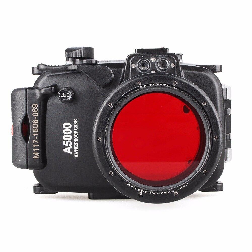 Camera Case Habitação Para Sony A5000 16-50mm