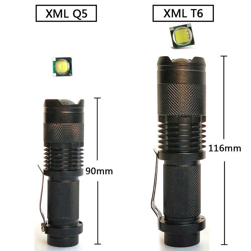 Yunmai sk68 mini penlight 200lm à prova dwaterproof água led lanterna tocha 3 modos zoomable foco ajustável luz portátil