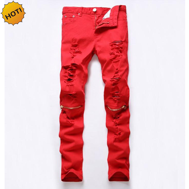 Popular Men Colored Skinny Jeans-Buy Cheap Men Colored Skinny ...