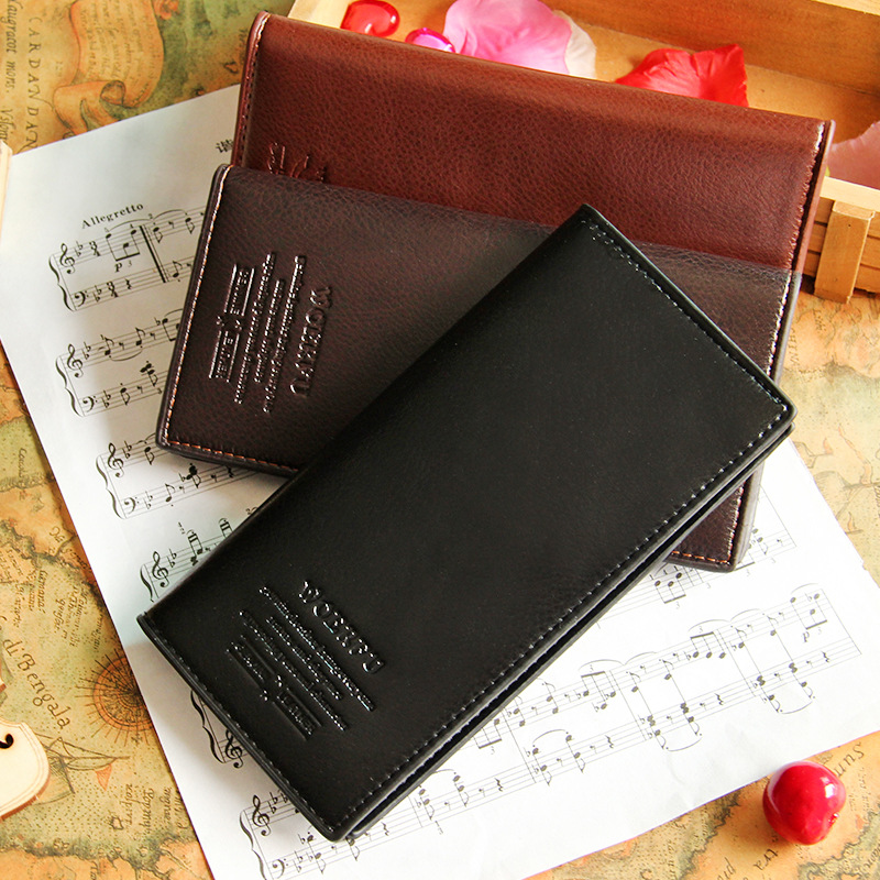 Hot sale! New arrival high quality PU leather long high grade business men wallet Card Holders Coin purse male thin wallet seitokai no ichizon cosplay school boy uniform h008
