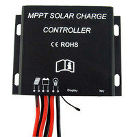 20A MPPT Solar Battery Charge Controller 12V 24V Waterproof Timer IP68 260W/520W