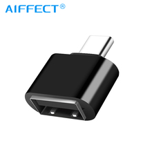 цены AIFFECT OTG Adapter USB Type C For Xiaomi Huawei Samsung S9 Typec Adaptador USB Tipo C Type-c To USB 3.0 OTG Adapter Converter