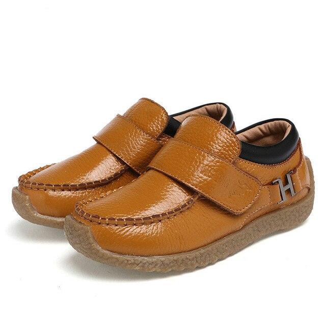 Девушки Кожа Shoes Мокасины Дети Мальчики Кожа Shoes Оксфорд Моды Ребенок Кожаные Сапоги Детские Тренер Девушки School Shoes