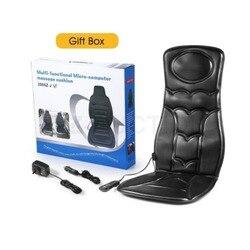 10 del motore di Vibrazione di Massaggio Sedia Pad Cuscino del Sedile w/Massaggio di Calore per la Casa Ufficio Auto wired remote di Controllo Facile sedia