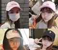 O bordado Coréia Do Sul moda curvo beirais boné de beisebol bordado peixe amantes casuais cap chapéu Harajuku
