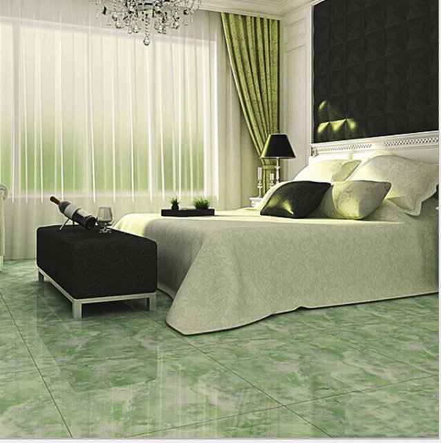 Ceramic Tile Is 800 High Grade All Glazed Green Jade The Living