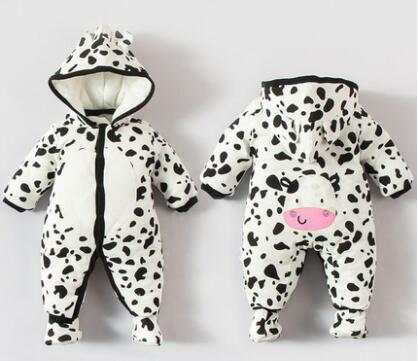 c0ee44c682bc6 Baby clothes for 0 to 3 month 6 month newborn baby autumn and winter winter  wadded