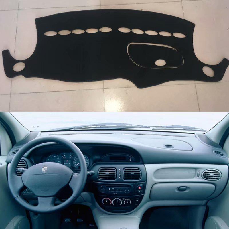 Custom Car Sun Shade Dashmats Car-styling Accessories Dashboard Cover Mats Carpet For Renault Megane Scenic 1996 2000 2001 2002