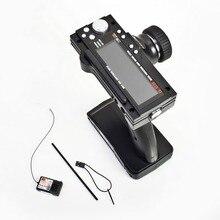 Flysky FS-GT3B FS GT3B 2,4G 3CH пистолет радиоуправляемая система передатчик с приемником для радиоуправляемого автомобиля лодки
