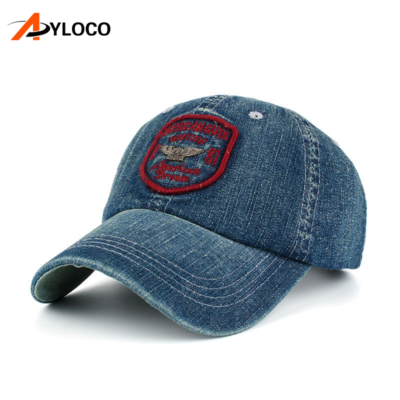 AYLOCO Unisex Fashion Men's Baseball Cap Women Snapback Hat Cowboy Casual Caps Summer Fall Hat For Men Cap Wholesale [flb] fashion baseball cap embroidery snapback hat for men women cotton casual mesh caps hat unisex casquette wholesale f118