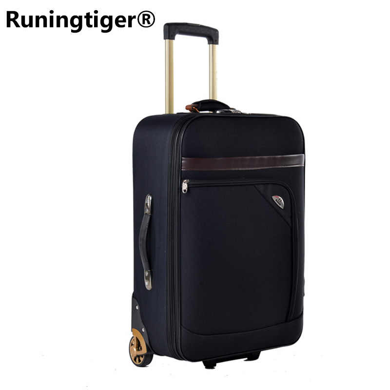 New fashion Oxford rolling luggage trimmer men /women trolley case luggage suitcase luggage business travel bag 20/24/26 inch