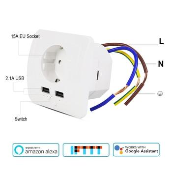 Wifi-Smart-UE-salida-con-2-puertos-USB-15A-pared-hembra-interruptor-de-temporizador-de-Control