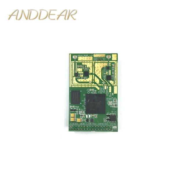 Un mini enrutador inalámbrico de doble banda 5,8G 2,4G router wifi módulo Open WRT ar9344 ateros módulo wi fi núcleo módulo