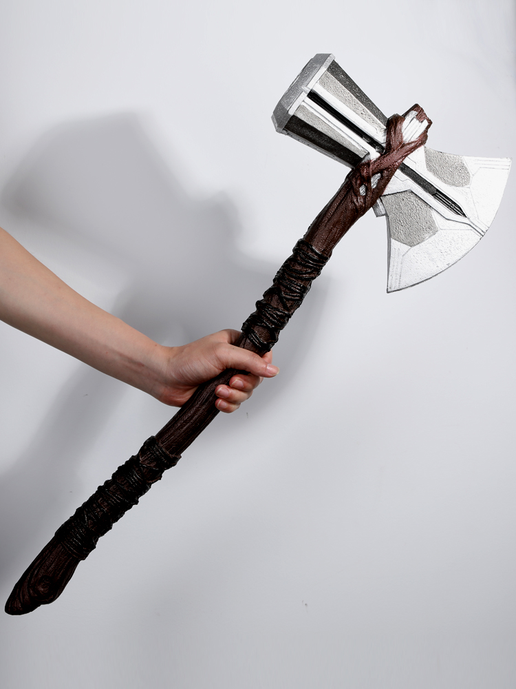 цена 70CM Thor Weapon Stormbreaker Axe Costume Cosplay Avengers 3 Thor cosplay Axe Props