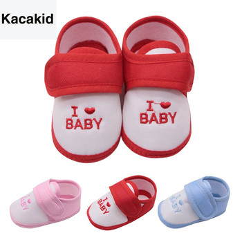 First Walkers 2019 New Fashion Prewalker Sneakers Infant Boy Girl Letter Print Casual Shoes Baby Shoes Kids Toddler Shoes 0-18M