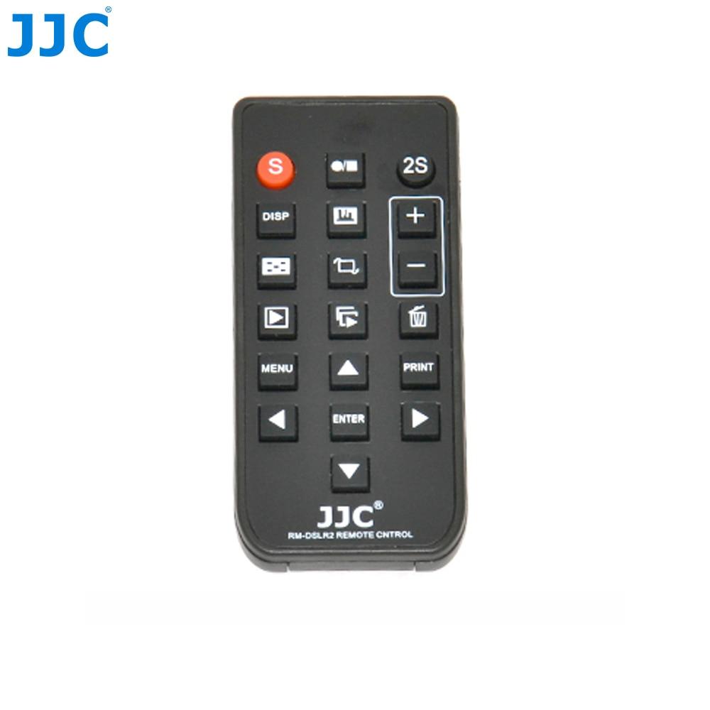 JJC IR infrarrojos Control remoto inalámbrico grabación de vídeo para SONY RMT-DSLR2 Compatible SLT Cámara NEX A6300/A7II/ a7RII