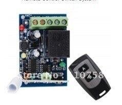 Código Aprendizaje envío gratis 12 V 1ch rf sistema de interruptor de control re