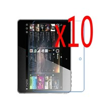 "10x LCD filme + 10x Sauber Tuch Klar Transparent Screen Protector Schutz Film Guards Für Alcatel One Touch T20 7 ""7 zoll(China)"