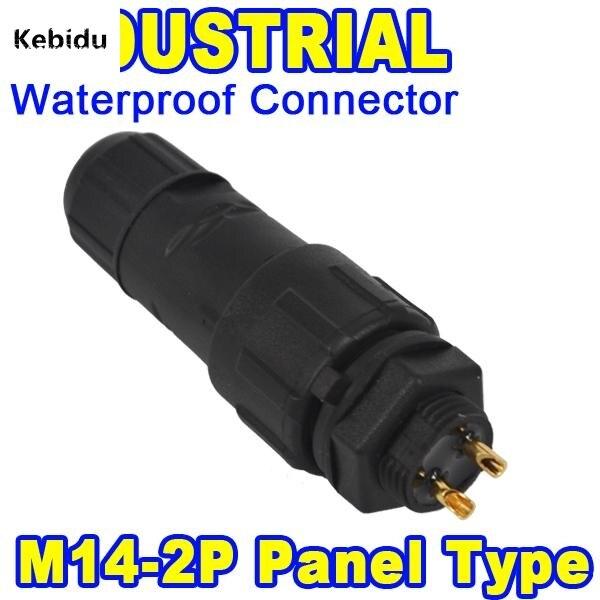 20 Stücke Neue M14 Industrielle 5A 400 V LED 7 Pin Wasserdicht ...