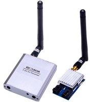FPV 5.8GHz 2W Video Transmitter Receiver AV RX TX 5.8 Ghz 200mW 5.8G 2 Watt VTX