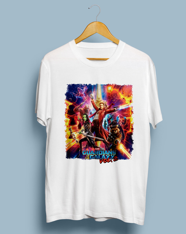 Guardian Of The Galaxy 2 Super Hero Movie T Shirt MenS Gildan Size S To 4Xl