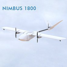 MyFlyDream MFD Nimbus 1800 Long Range RC FPV Plane Kit Only, New Version EPO Big