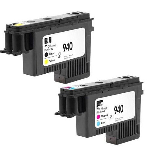 Genuine 2-Pack 940 Print Head C4900A & C4901A For HP OfficeJet Pro 8000 8500 Printer