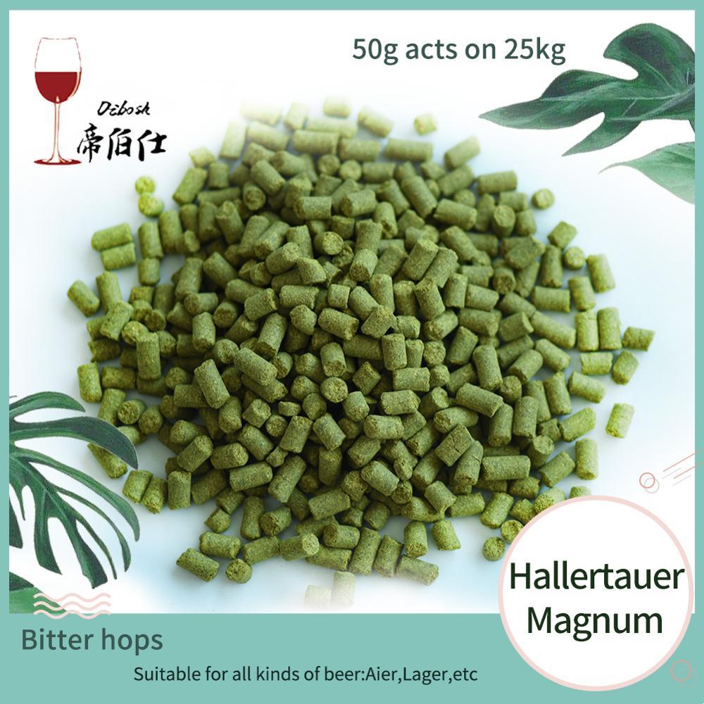 Hops 50 г HallertauerMagnum горькое пиво пивоваренные аксессуары домашнее пивоваренное пиво Aier, лагерный пивной каскад Citra US Golding Чешский сааз