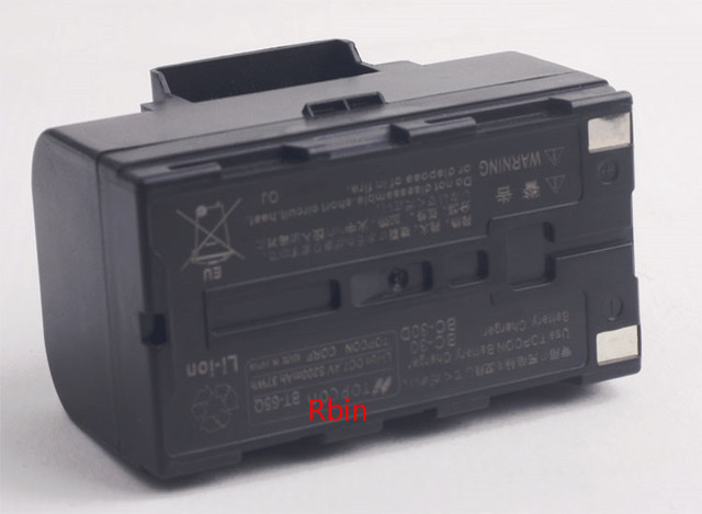 BT 65Q Li-Ion Battery For Topcon GTS 900 And GPT 9000 Total Station