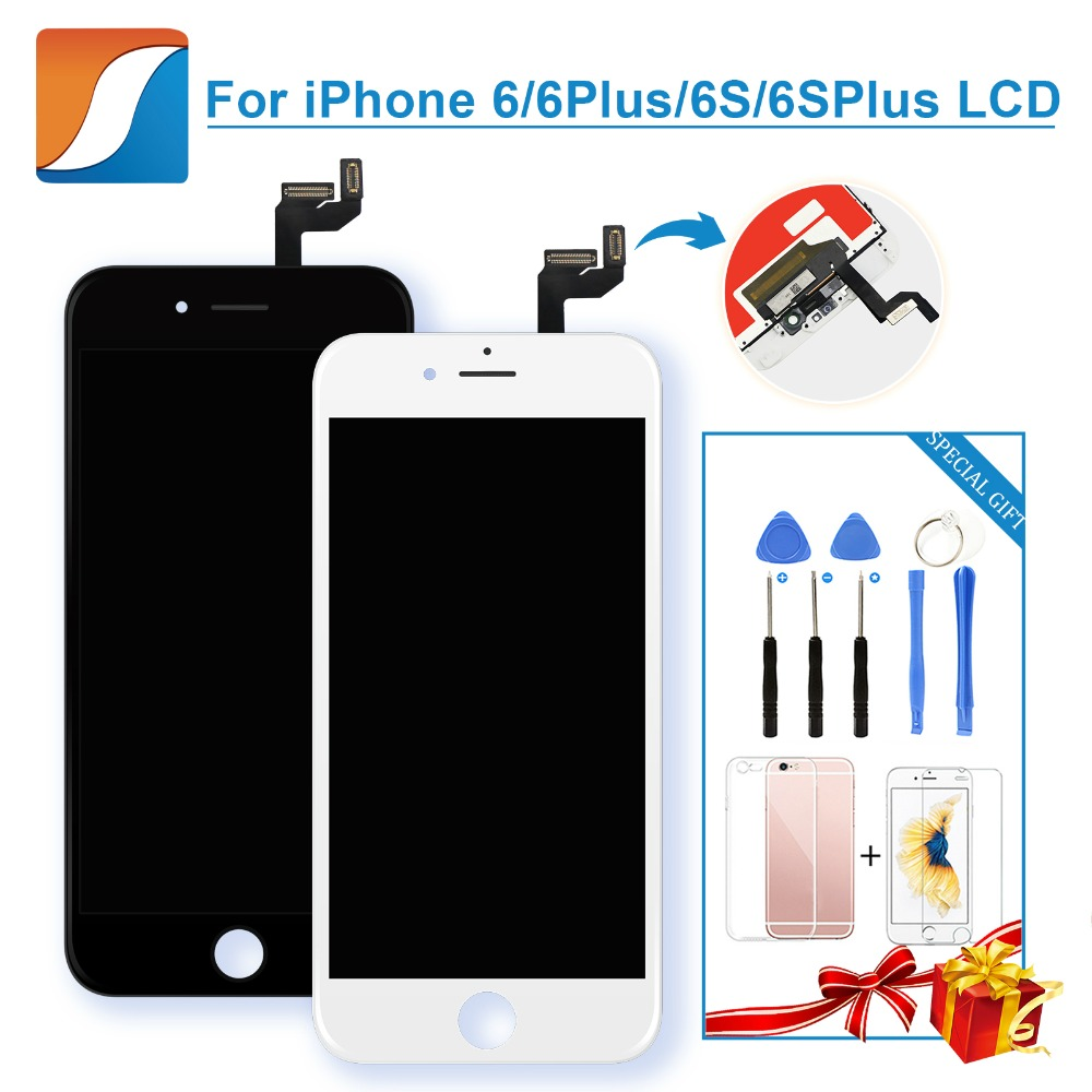 AAA+++ For iPhone 6 6S Plus LCD 100% Brand New With 3D Touch Screen Digitizer Assembly Replacement Display Free Shipping