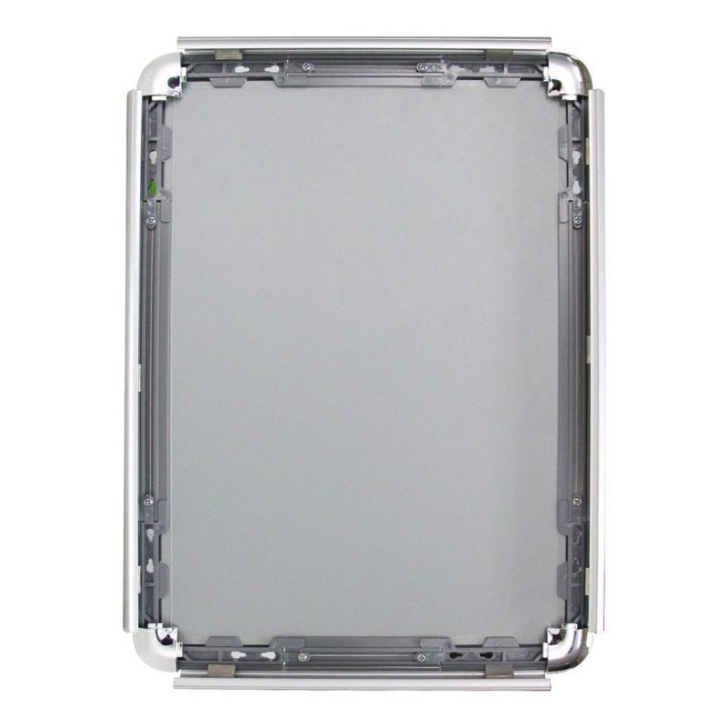 aluminum frame led light box with round corner