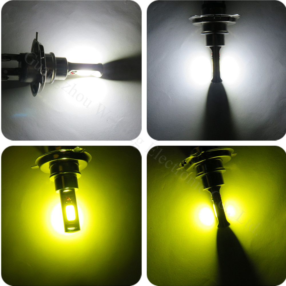WLJH 2pcs avtomobilska LED luč 30W H4 H7 H8 9005 9006 LED žarnice - Avtomobilske luči - Fotografija 5