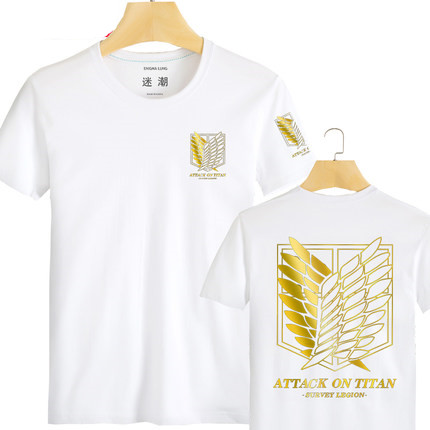 Japanese Anime T Shirt Scouting Legion Clothes Shingeki No Kyojin Tee Shirt  Attack On Titan Giant