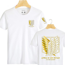 Japanese Anime Attack On Titan Short-Sleeve T-shirt