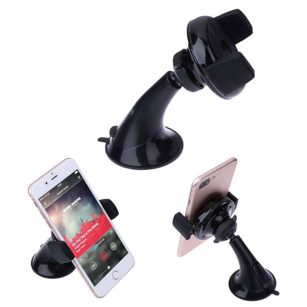 Qi Wireless Phone <font><b>Charger</b></font> Stand, Car Windshield Mount/<font><b>Outlet</b></font> Mobile Phone Holder Stand for Samsung S6 S7 S7 Edge,Note 5