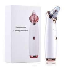Electric Blackhead Remover Pore Vacuum Suction Diamond Dermabrasion Face Cleaner Massage Machine стоимость